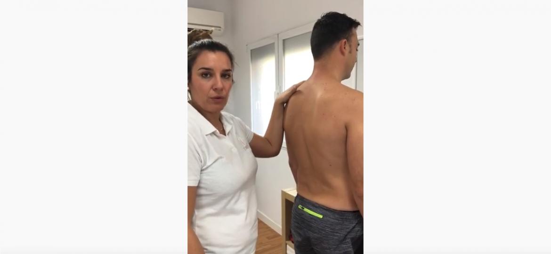 tratamiento dorsal bloqueo articular crack